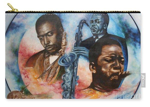 Blaa Kattproduksjoner     John Coltrane - Jazzed  Carry-all Pouch