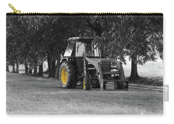John Deere 620 In Selective Color Carry-all Pouch