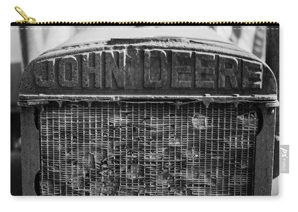 John Deere In Monochrome Carry-all Pouch