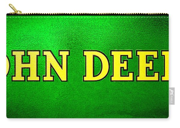 John Deere Nameplate Carry-all Pouch