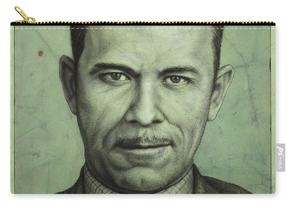 John Dillinger Carry-all Pouch