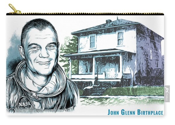 John Glenn Birthplace Carry-all Pouch
