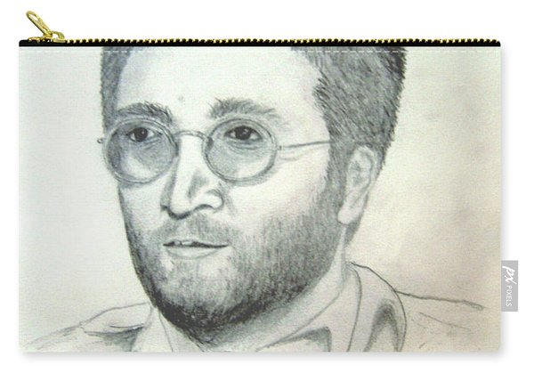John Lennon Power To The People Carry-all Pouch