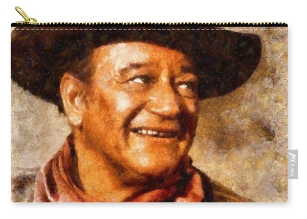 John Wayne Hollywood Actor Carry-all Pouch
