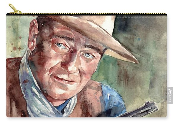John Wayne Portrait Carry-all Pouch