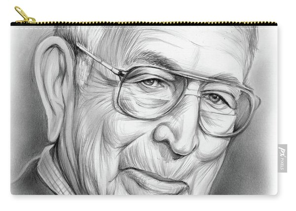 John Wooden Carry-all Pouch