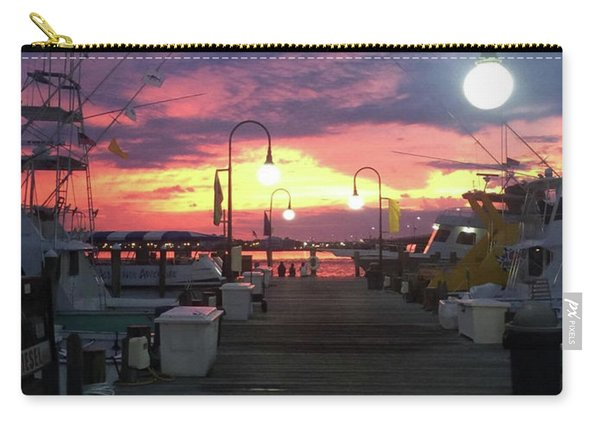 John's Daughter's Talbot St Pier Sunset Carry-all Pouch
