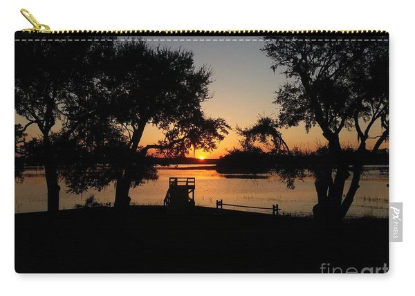 Johns Island Sunset Carry-all Pouch
