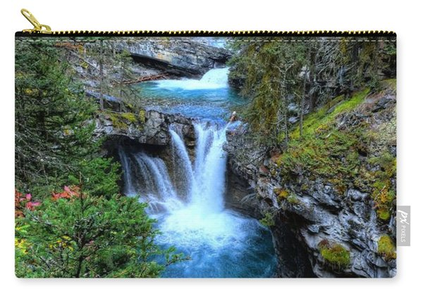 Johnston Canyon Falls Hike Lower Falls Carry-all Pouch