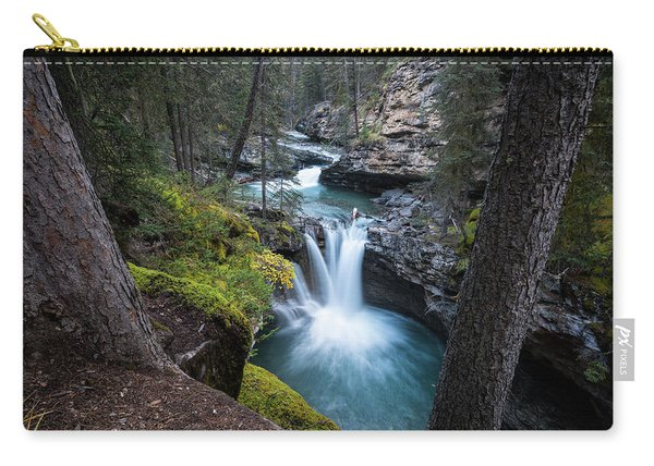 Johnston Canyon Waterfall Carry-all Pouch