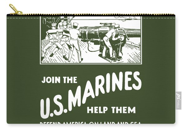 Join The Us Marines Carry-all Pouch