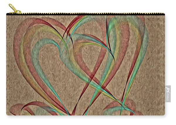 Joined At The Heart Carry-all Pouch
