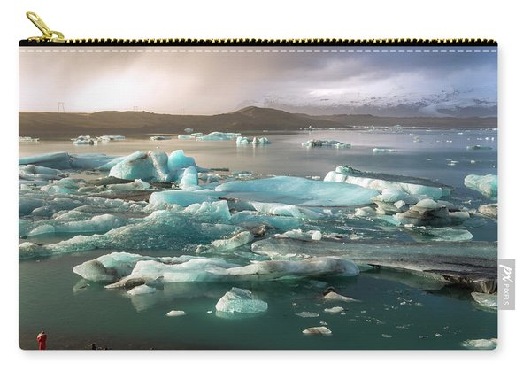Jokulsarlon The Magnificent Glacier Lagoon, Iceland Carry-all Pouch