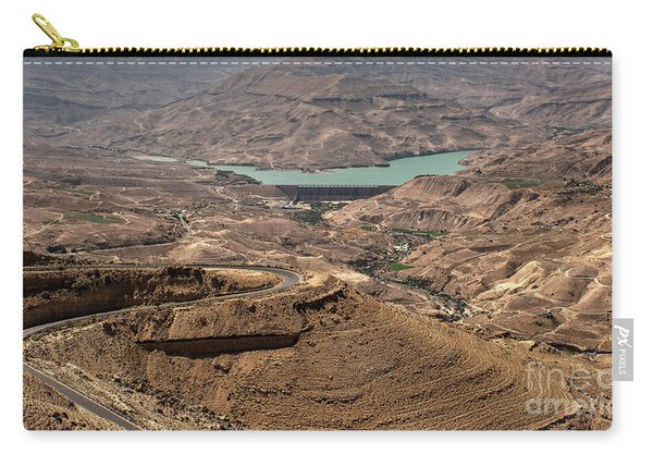Carry-all Pouch featuring the photograph Jordan River by Mae Wertz