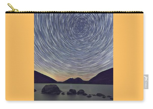 Jordon Pond Star Trails Carry-all Pouch