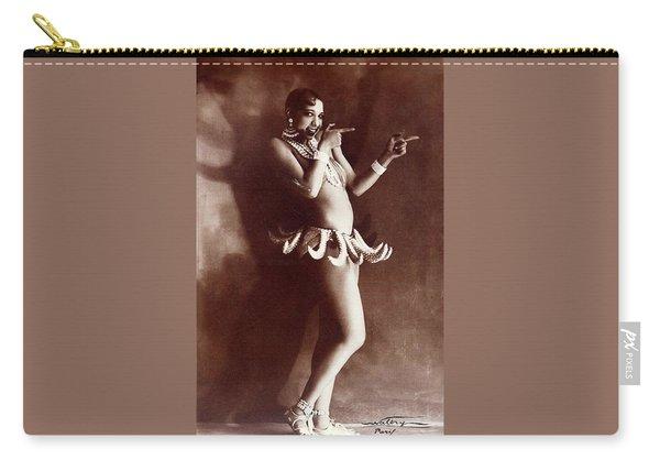 Josephine Baker Lucien Walery   Banana Skirt From The Folies Bergere Production Un Vent De Folie Carry-all Pouch