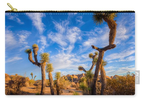 Joshua Tree Dawn Carry-all Pouch