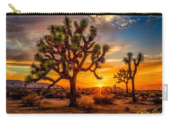 Joshua Tree Glow Carry-all Pouch