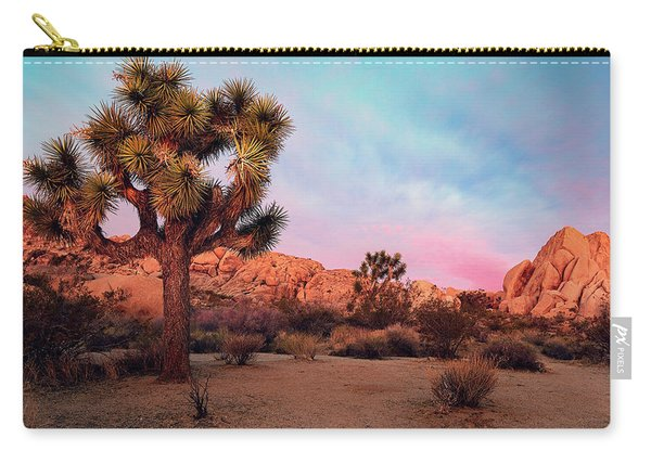 Joshua Tree With Dawn's Early Light Carry-all Pouch