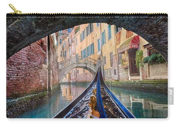Journey Through Dreams - A Ride On The Canals Of Venice, Italy Carry-all Pouch