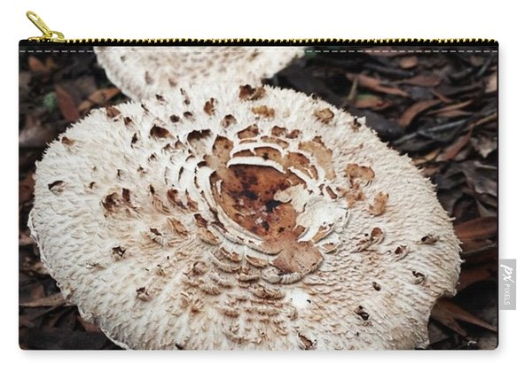 Carry-all Pouch featuring the photograph Joy Walking In The Woods by Mr Photojimsf