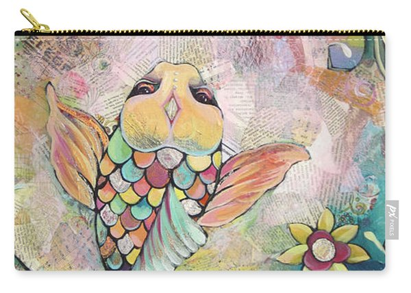 Joyful Koi I Carry-all Pouch
