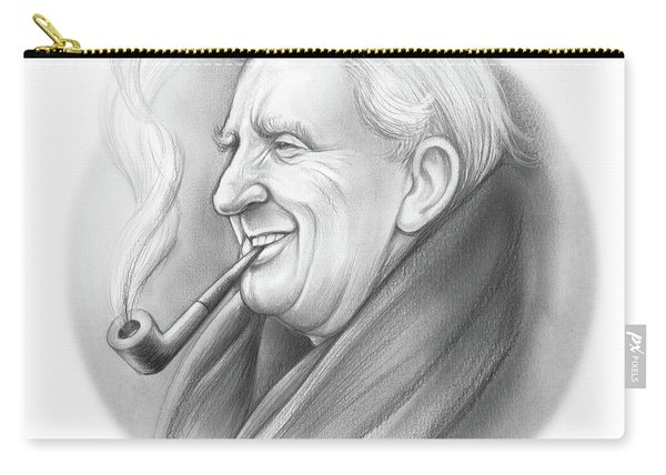 Jrr Tolkien Carry-all Pouch