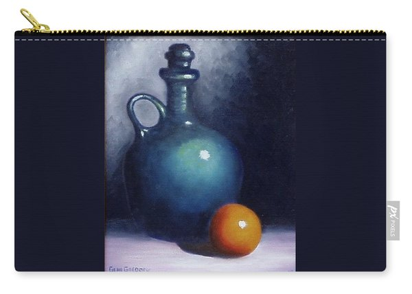 Jug And Orange. Carry-all Pouch