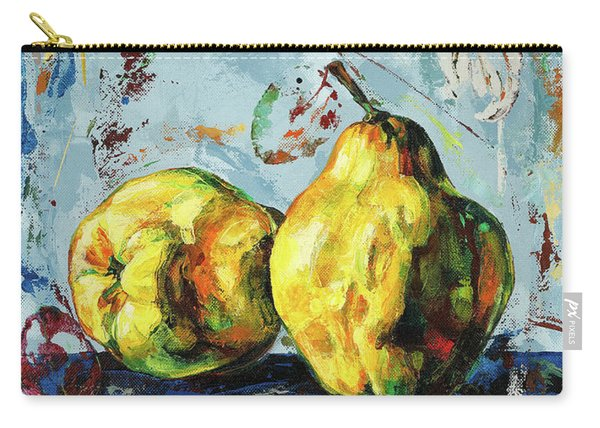 Juicy Quinces Carry-all Pouch