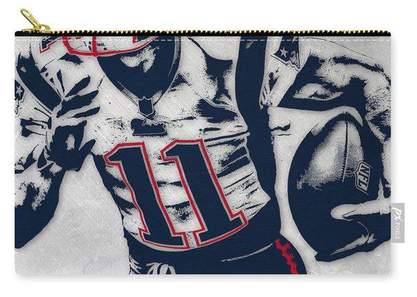 Julian Edelman New England Patriots Pixel Art 4 Carry-all Pouch