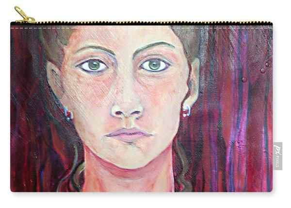 Julie Self Portrait Carry-all Pouch