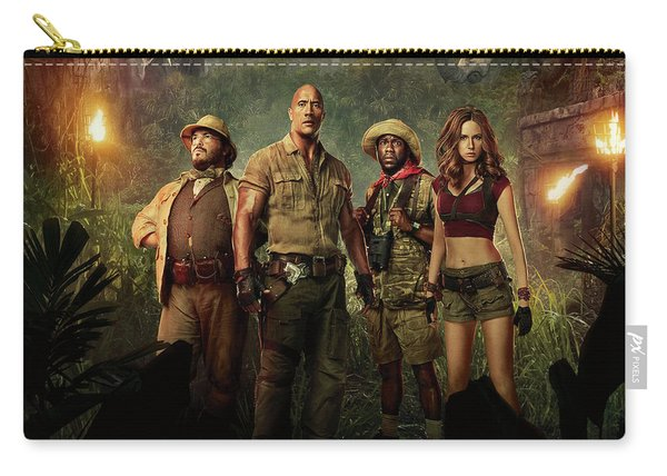 Jumanji Welcome To The Jungle 2.0 Carry-all Pouch