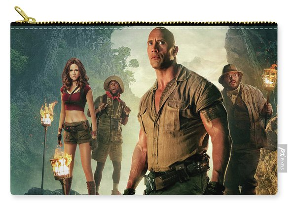 Jumanji Welcome To The Jungle Carry-all Pouch