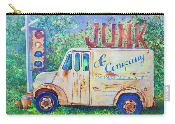 Junk Truck Carry-all Pouch