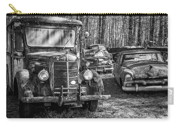 Junked Mack Truck Ad Old Plymouth Carry-all Pouch