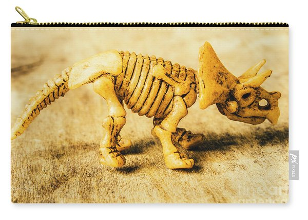 Jurassic Toy Triceratops Carry-all Pouch