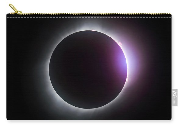 Just After Totality - Solar Eclipse August 21, 2017 Carry-all Pouch