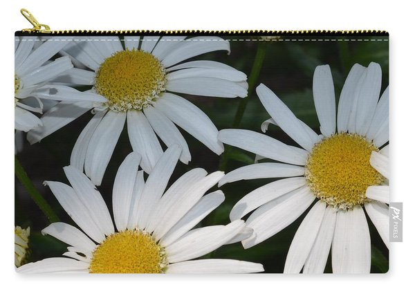 Just Daises Carry-all Pouch
