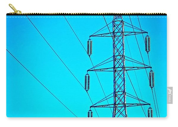 Just Feeling #electric!  2nd Photo For Carry-all Pouch
