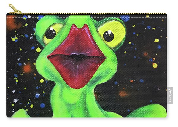 Just Kiss Me Carry-all Pouch