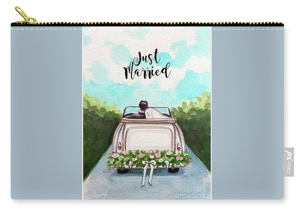 Just Married Carry-all Pouch