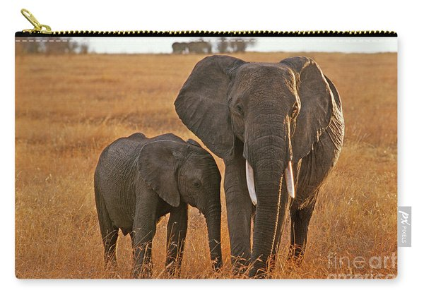 Just Mom And Me Carry-all Pouch