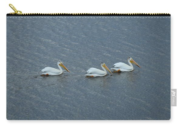Triple Pelicans Lake John Swa Co Carry-all Pouch