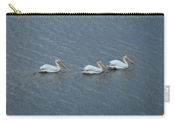 Triple Pelicans Lake John Swa Co Carry-all Pouch