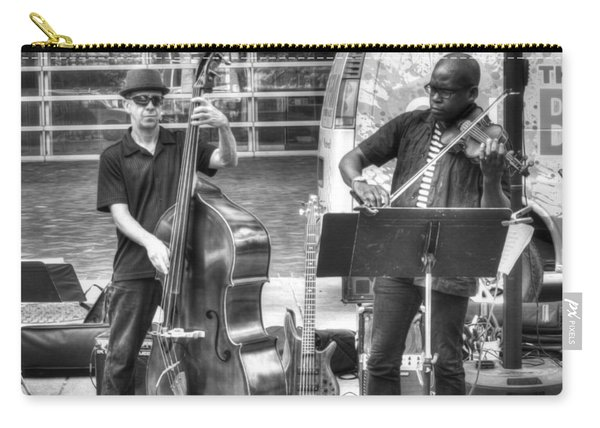 Carry-all Pouch featuring the photograph Just The Strings by Michael Colgate