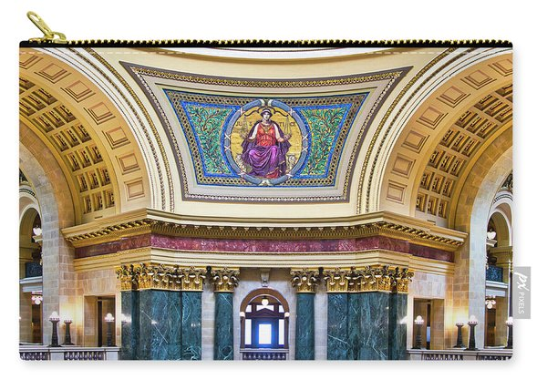 Justice Mural - Capitol - Madison - Wisconsin Carry-all Pouch