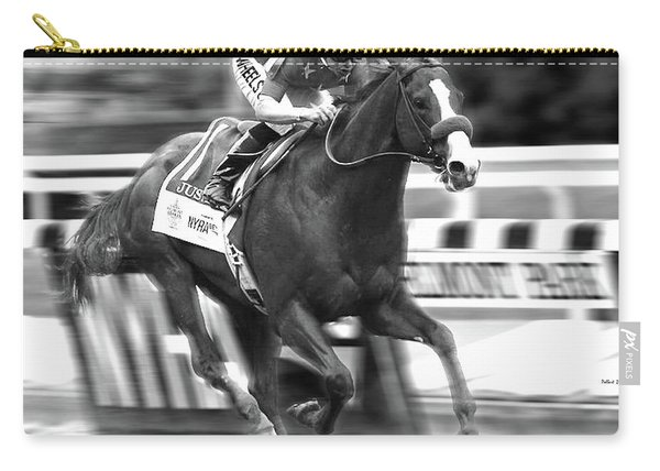 Justify, Belmont Stakes, Triple Crown, 2018 Carry-all Pouch