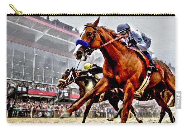 Justify Wins Preakness Carry-all Pouch