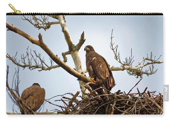 Juvenile Eagles Carry-all Pouch