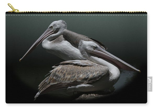Juxtaposition - Pelicans Carry-all Pouch